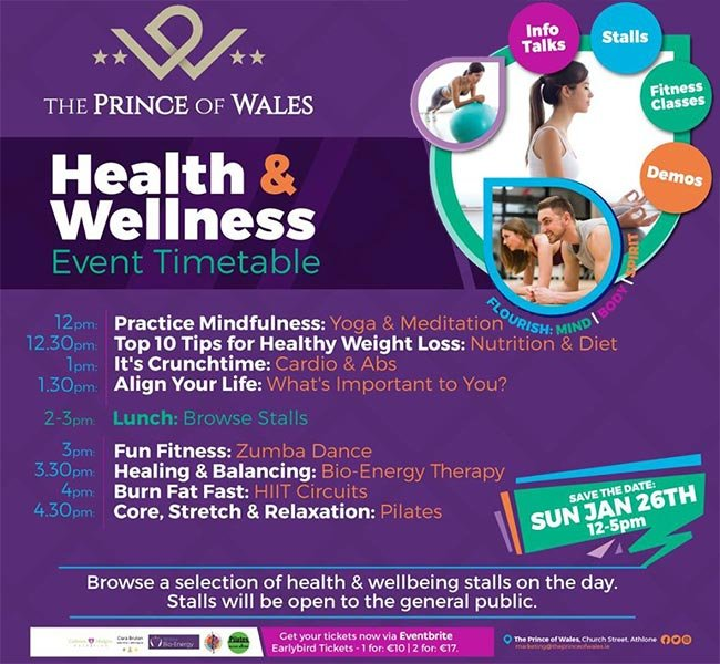 prince of wales health and wellness