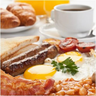 Prince of Wales irish breakfast